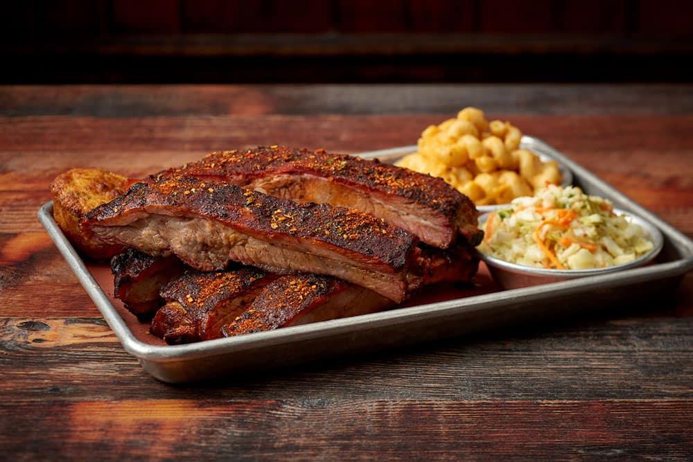 Memphis Style Pork Spare Ribs