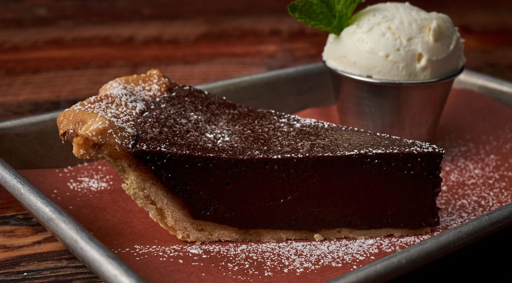 Chocolate Chess Pie