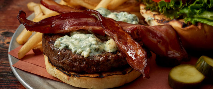 Virgil's Bacon Cheeseburger